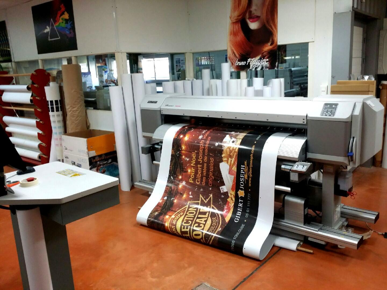Imprimante à encres Eco-solvant