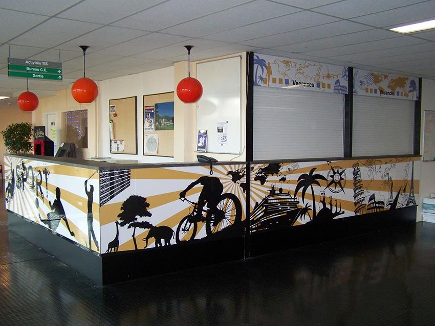 achromat image realisations 005 - Imprimerie à Vieille-Toulouse